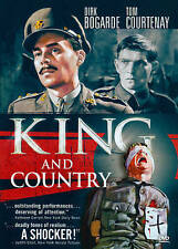 KING AND COUNTRY  DIRK BOGARDE  TOM COURTENAY  WIDESCREEN  VCI  USA  DVD  NEW