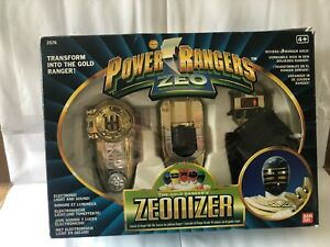 Power rangers mighty morphin Zeo Gold Morpher vintage boxed set fully works