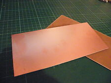 95 x 203mm Copper Clad PCB FR4 Laminate Single Side High Quality Board
