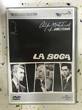 LA SOGA DVD ALFRED HITCHCOCK JAMES STEWART UNIVERSAL