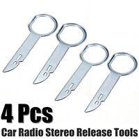 4pcs voiture Radio stéréo sortie Removal Tools clés pour VW Audi Mercedes Porsch