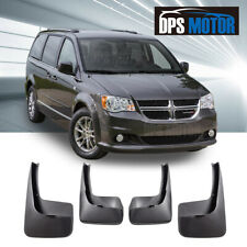 Front Rear 4PC OE Style Splash Mud Guards Flaps For 2011-17 Dodge Grand Caravan
