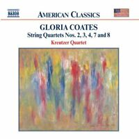 Gloria Coates: String Quartets Nos. 2, 3, 4, 7 & 8, New Music