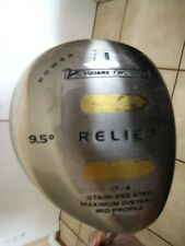 Square Two Rough Relief Driver Golf Club_9.5 ,Regular Flex Graphite Shaft, #1,
