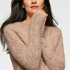 Mavi Damen Pullover Strickpullover Grobstrick  rosa Neu Gr.S
