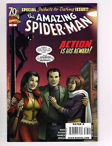 Amazing Spider-Man #583 NM comic featuring Barack Obama! DATING ISSUE Mary Jane