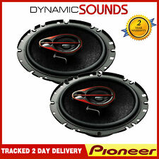 """Pioneer TS-R1750S - 6.5"""" 17cm 3-way Car Coaxial Speakers 500W Total Max Power"""