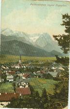 Alte Ansichtskarte Postkarte Partenkirchen 1910 farbig