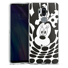LG G7 ThinQ Silikon Hülle Case - Minnie Dots