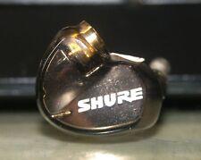 Shure Metallic Bronze SE535 In-Ear only Headphones - Right SIDE EAR BUD ONLY