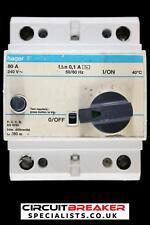 HAGER 80 AMP 100 mA DOUBLE POLE RCCB RCD U880 00
