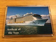 Royal Caribbean ANTHEM OF THE SEAS Large Fridge Magnet Cruise Ship Southampton c