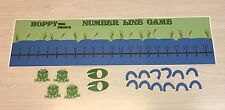 Hoppy the Frog's Number Line Game - Laminated Cards Set
