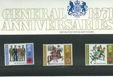 GB - PRESENTATION PACKS - 1971 - GENERAL ANNIVERSARIES