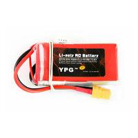 YPG 1000mAH 11.1V 60C 3S Lipo Li-Po Lipoly Battery for RC Helicopter RC Hobby