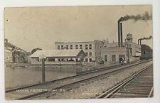 1915 Columbus Wisconsin Wi Factory Railroad Rppc
