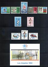 Belgium  MNH Olympic Complete Sets -  Multicolored Superb SCV $8.60