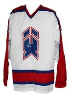 Any Name Number Size New Haven Nighthawks Custom Retro Hockey Jersey White