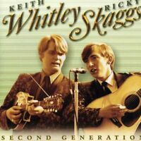 Keith Whitley and Ricky Skaggs - Second Generation Bluegrass [CD]