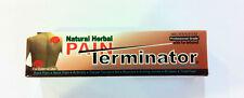 Pain Terminator Cream Tube 1.77 oz (50 gm) by Golden Sunshine