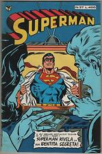 SUPERMAN cenisio N.37 - 1979 LA SUPER STELLA DI METROPOLIS ! wonder woman