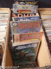 Bulk lot of 200 x American comic books. Marvel, DC and independent titles.
