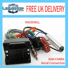 VAUXHALL OPEL  ASTRA d 2008 to 2011 ISO LEAD HARNESS WITH FAKRA AERIAL ADAPTOR