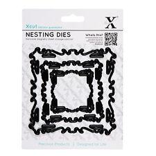 3pc nesting dies intricate ornate frames Use in Xcut sizzix big shot eBosser etc