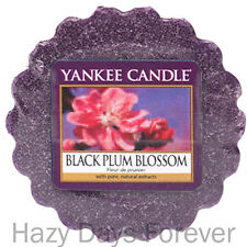 YANKEE CANDLE WAX TART MELT Black Plum Blossom BUY 10 GET FREE P&P Scented fruit