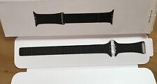 Genuine Apple Leather Loop Watch Strap BLACK Large 42mm / 44mm