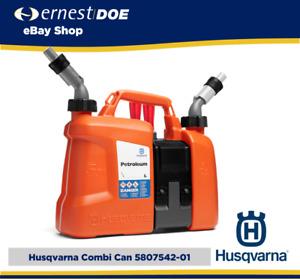 HUSQVARNA COMBI CAN | 5L Petrol Mix  + 2.5l Chain oil |  580754201