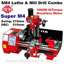 SIEG Super M4 (SM4)  HiTorque1000W Lathe & Mill Drill Combination