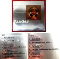 LP Dirk Busch: Kinder Kinder... (H + L 219) D 1981