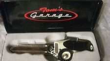 Rare Special Tom's Garage Key In A Black Small Scale Diecast From GMP 2008 dc973