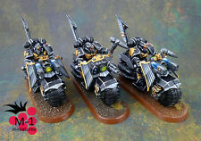 Warhammer 40k Dark Angels Ravenwing Black Knights M-1 pro-painted