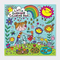 Little Gardener Children's Colouring Book by Rachel Ellen Gift For Girls Boys