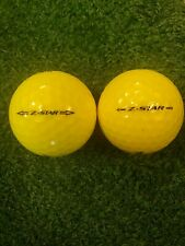 24 TRULY MINT 5A YELLOW Srixon Z-Star *2016-2018* Golf Balls - FREE SHIPPING