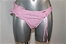 adorable bas de maillot bain vichy rose et blanc RAVAGE taille 3 (M) NEUF