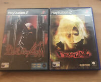 Devil May Cry 1 and 2 Bundle  PS2  PlayStation 2 Games