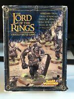"""Lord Of The Rings Isengard Troll Games Workshop """"eavy metal"""" Unpainted Rare!!!!!"""