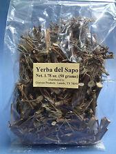 YERBA (HIERBA) del SAPO de Mexico- 50g LARGE Economy Size bag BOLSA SELLADA