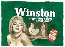 Winston - Marilyn Monroe - Limited Edition Giclée - Sanjulian Signed
