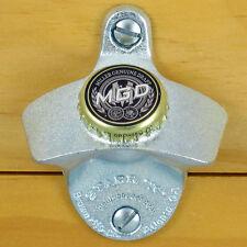 MGD Miller Genuine Draft Beer BOTTLE CAP Starr X Wall Mount Bottle Opener NEW!!