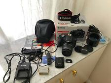 Digitalkamera Canon EOS 500D EF-S 18-55 IS Kit mit umfangreichem Zubehörpaket
