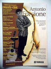 PUBLICITE-ADVERTISING :  YAMAHA  Antonio Forcione  04/2002