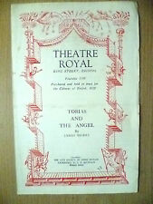 Theatre Royal Programme 1948- TOBIAS AND THE ANGEL by J Bridie