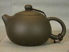 Chinese Yixing Teapot & Cover w/ Loup Handle