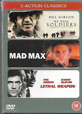 WE WERE SOLDIERS/MAD MAX/LETHAL WEAPON GENUINE R2 DVD 3 FILM SET NEW/SEALED