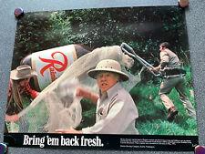 Vintage Rainier Beer Poster Bring Em Back Fresh