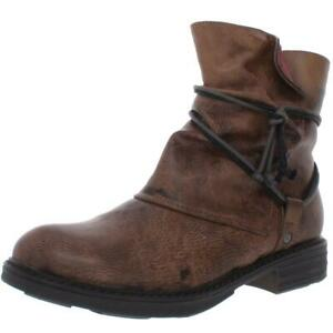 Patrizia by Spring Step Womens Resago Brown Ankle Boots 38 Medium (B,M) 7169